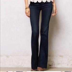 COH Button #251 Stretch High Rise Wide Leg Jeans